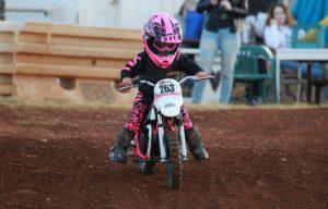 Wo darf man mit einem Kindermotorrad fahren?